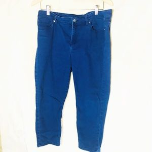 Michael Kors cropped skinny jeans